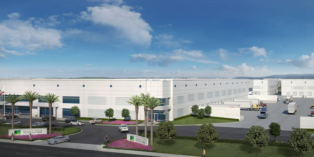 Brown Field Technology Park will consist of 1 million square feet of new, class-A industrial buildlings.