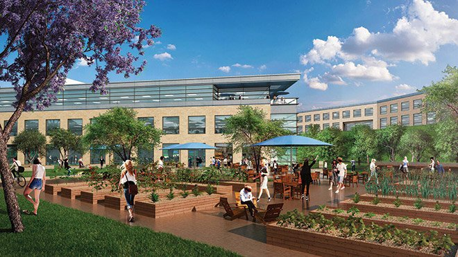 An organic bistro and café are part of the amenities Murphy Development is adding to Scripps Ranch Technology Park.